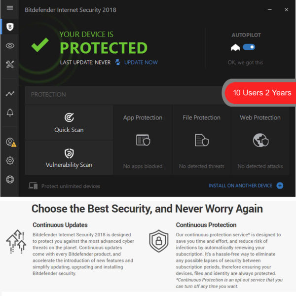 Bitdefender Internet Security 6 2018