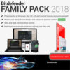 Bitdefender Family Pack2 2018