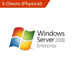 microsoft windows server 2008 standard 5 client physical
