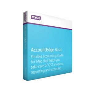 MYOB Account Edge Basic for Mac Users