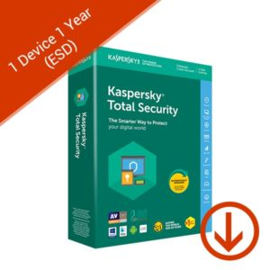 Kaspersky Total Security 2020 1 Device 1 Year