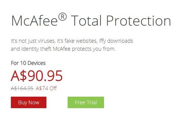 McAfee Total Protection: Totally Worth It? - Softvire AU