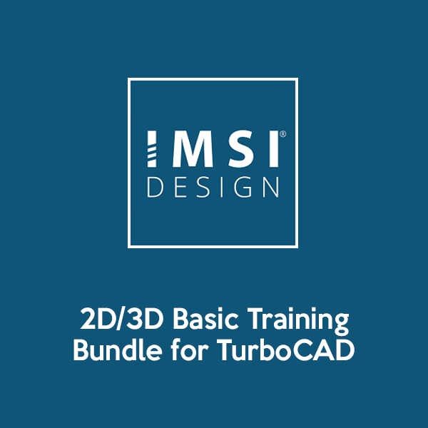 2D3D Basic Training Bundle for TurboCAD 2018