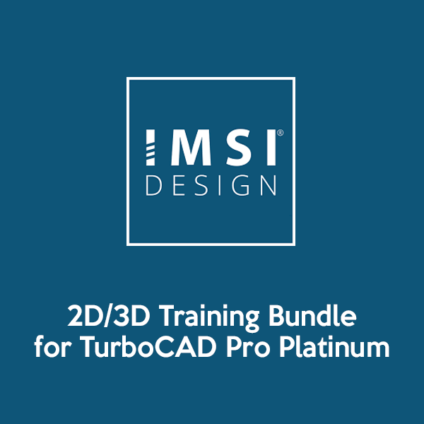 2D3D Training Bundle for TurboCAD Pro Platinum 2018