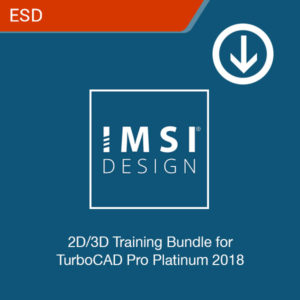 2d 3d training Bundle for turbocad pro platinum 2018 esd