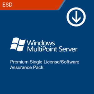 microsoft windows multipoint server premium single license software assurance pack esd