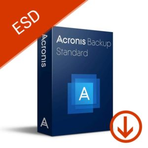 acronis backup standard server subscription license 1 year